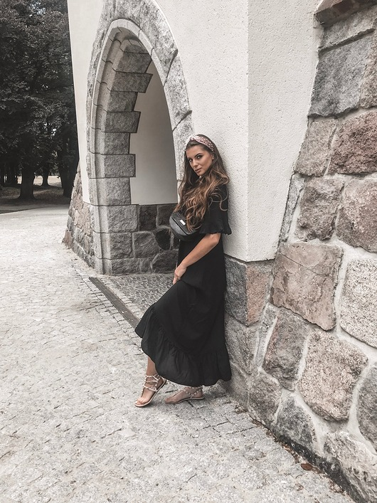 Sukienka czarna SONIA Boho