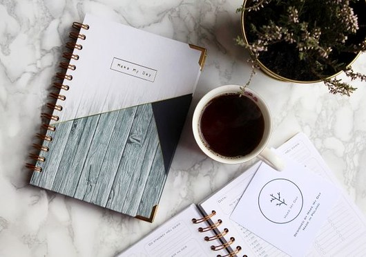 kalendarze i plannery-Daily Planner Make My Day
