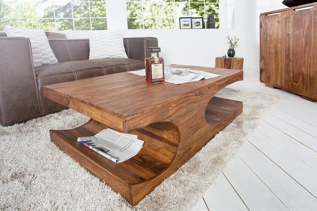 Stolik drewno egzotyczne Sgheesham 120cm