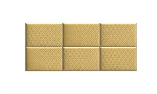 Zagłówek modułowy made for bed boho, żółty - 2012808