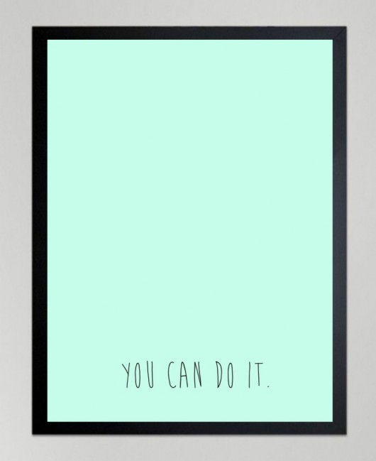 plakaty-POSTER - You can do it