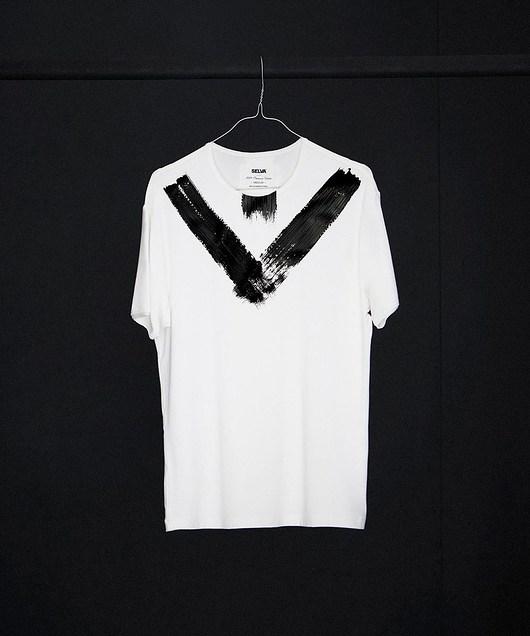 Atayal abstract no.1 men's t-shirt - SELVA - 1955123