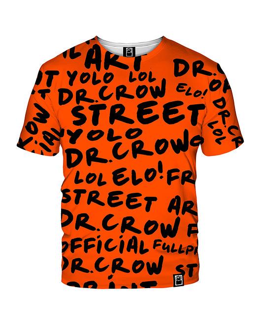 Damski T-shirt DR.CROW Orange