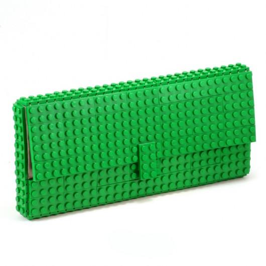 46cab71e4f567 Zielona Torebka - kopertówka z klocków LEGO  174  - kopertówki ...
