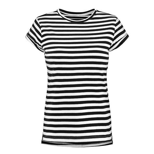 d448fc78ff150 T-SHIRT PROSTA HISTORIA w paski - bluzki - t-shirty - damskie ...