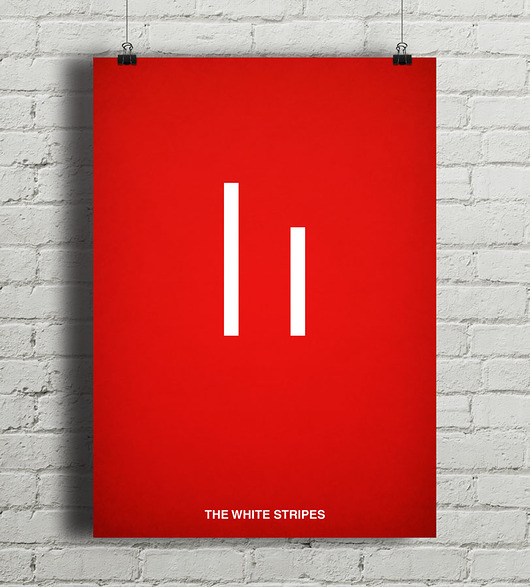 plakaty-The White Stripes - plakat