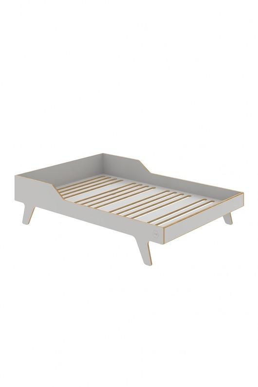 Łóżko Dream Double szare
