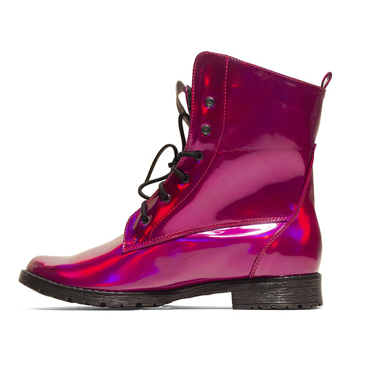 buty - botki-BOHEMA Workers No.2 VIOLET MAGNETISM