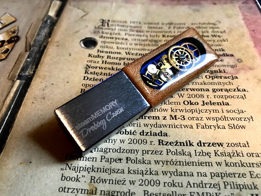 steamMEMORY of Wood (Blue) - Pendrive - LED - 1948410
