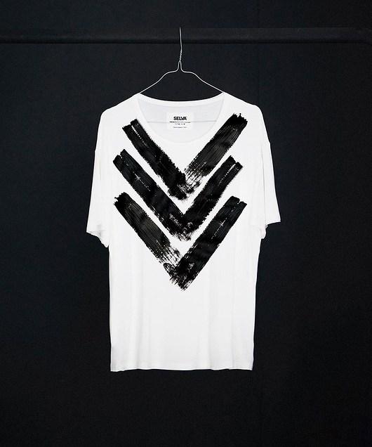 Atayal abstract no.2 men's t-shirt - SELVA - 1955125