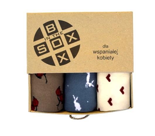Obraz z Box dla Wspaniałej Kobiety - Sox in the Box