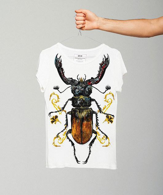 Hexartius t-shirt - SELVA