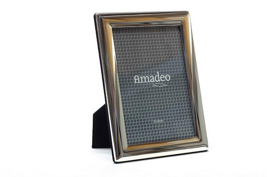 Ramka Amadeo na zdjęcie 10 x 15 cm srebrna - 1974554