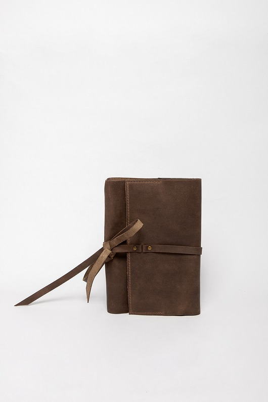 notesy, albumy-Notes  Lezerton N01 Retro Brown