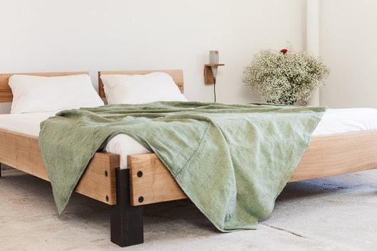 Sycylia łóżko dębowe