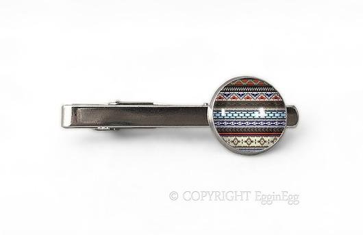 Azteckie wzory II - spinka do krawata - 0469 - 1971457