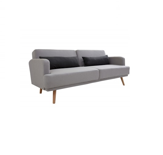 Sofa z funkcją spania Studio szara loft 210cm