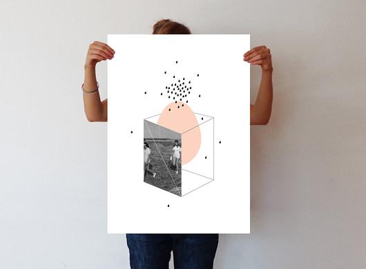 11 - ręcznie wykonana grafika - 50 x 70 - 1976705