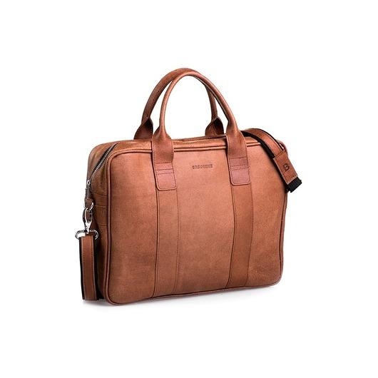 3e8fd0f7bd9e0 akcesoria - torby i nerki - męskie-Skórzana męska torba brodrene na ramię
