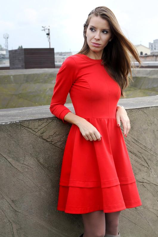 Sukienka Amanda/ Red