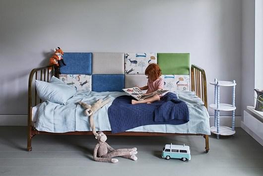 Zagłówek modułowy made for bed,zwierzątka - 1975753