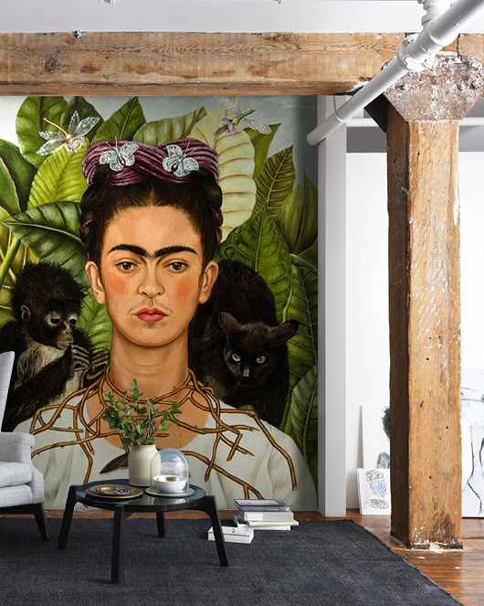 tapety, naklejki ścienne- Frida Kahlo  - Fototapeta Samoprzylepna