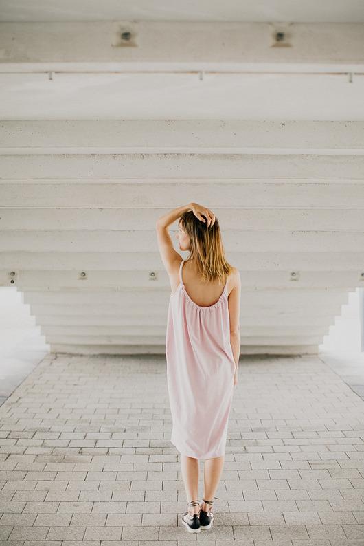 SALI DRESS /pale pink/