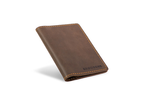 a296ba170f38f Super cienki portfel ze skóry slim wallet - akcesoria - inne ...
