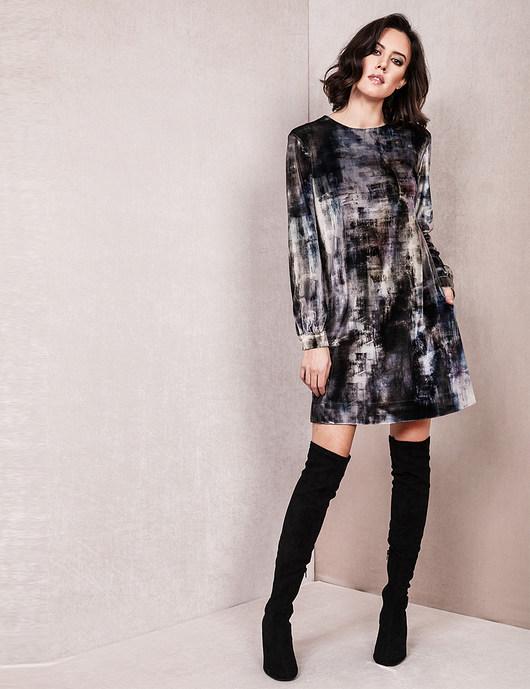 Sukienka Tiara welurowa