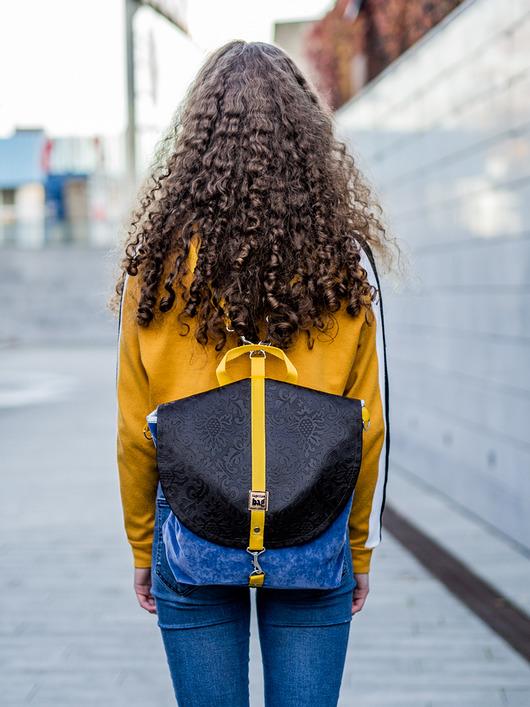 56e486d16646c Kupić.pl - Pakamera - Plecak szkolny młodzieżowy vintage jeans ST06