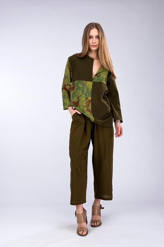 Halny Khaki Spodnie