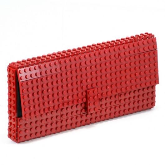 19c2c87b0b049 Bordowa kopertówka z klocków LEGO  174  - kopertówki - Pakamera.pl