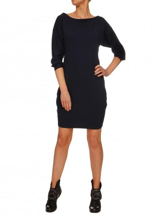 Sukienka granatowa YY100165_RAL5013