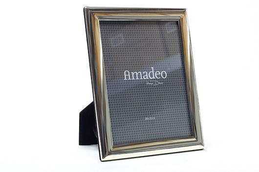Ramka Amadeo na zdjęcie 20 x 25 cm srebrna - 1977051