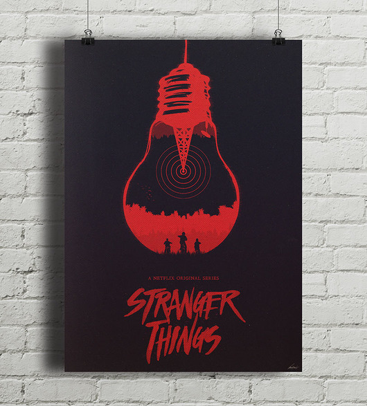 plakaty-Stranger Things - plakat A3