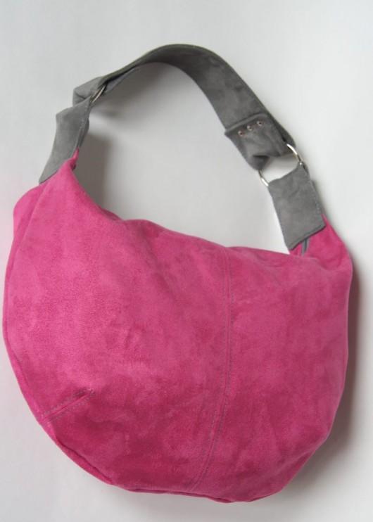 5d7f9d29e15b5 Rózowo-szara - torby na ramię - damskie - Pakamera.pl