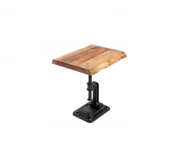 Stolik dekoracyjny Industry drewno akacjowe 43cm