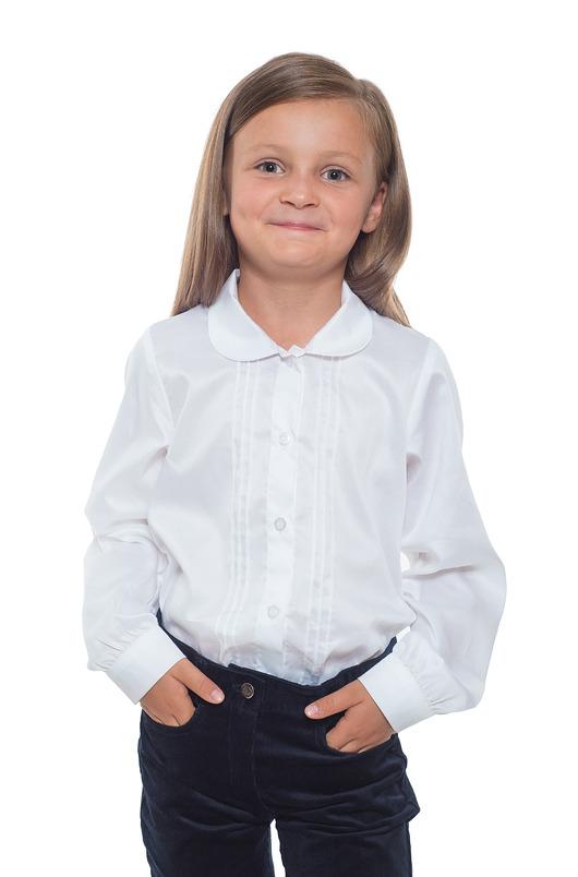 Biała bluzka koszulowa - 1889507