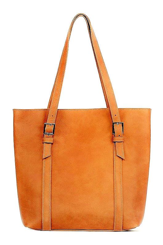 57225e2e861b6 Skórzana CAMEL duża torebka damska - torby na ramię - damskie ...