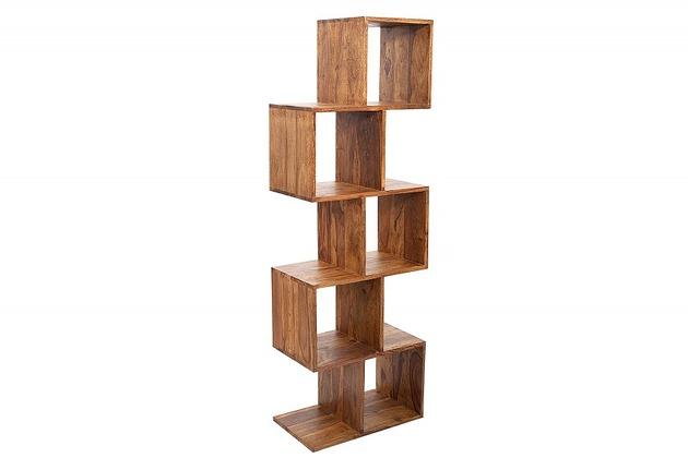 Regał Zack Zick 150 cm drewno sheesham