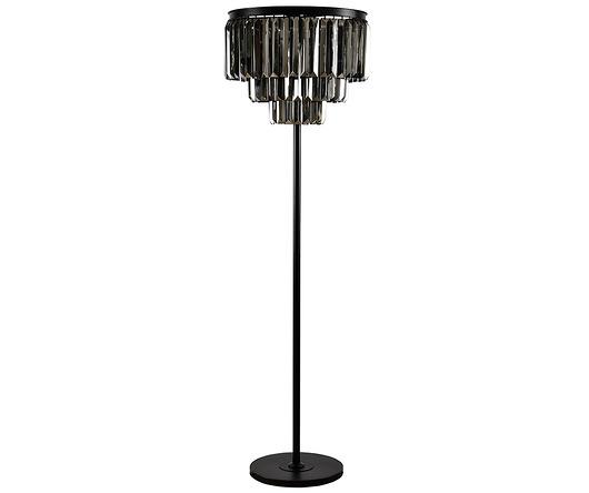 Lampa Podłogowa Stojąca Glamour Kryształ 168cm Lampy Stołowe