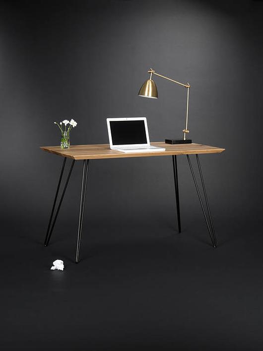 Biurko/stół w stylu industrialnym, stalowe nogi - 1912739