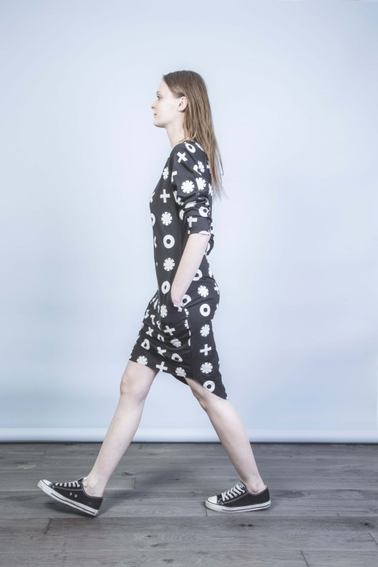 sukienki - midi-ChicMom DRESS - OX PRINT