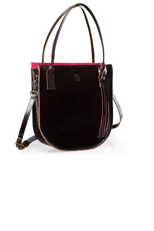 Skórzana torebka damska Duże torby na ramię