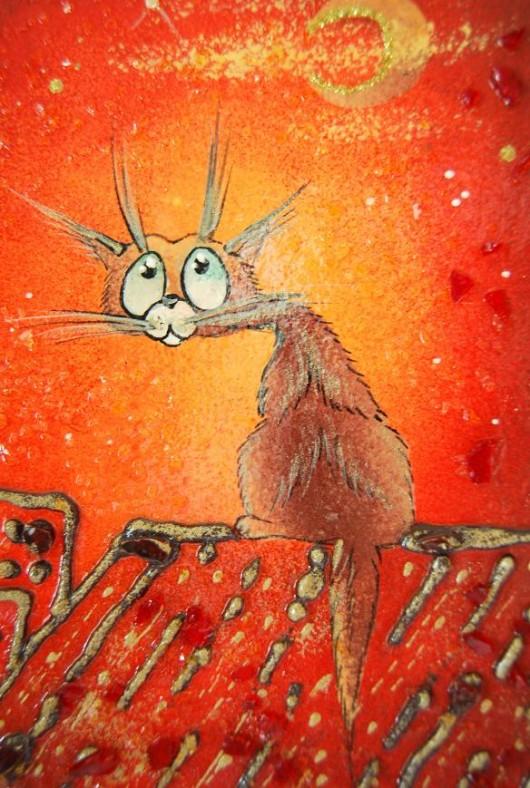 Obraz Kot Malarstwo Pakamerapl