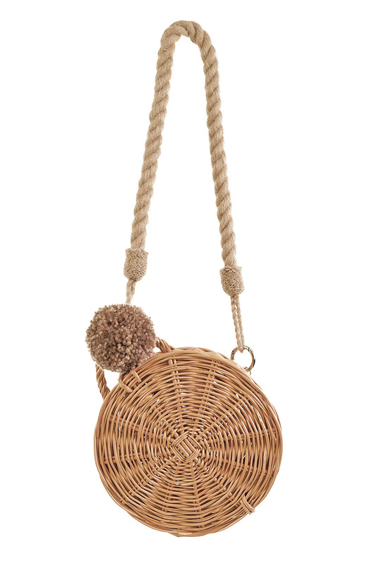 torebki do ręki-Koszyk Ladybag Wicker Basket no. 3 with rope