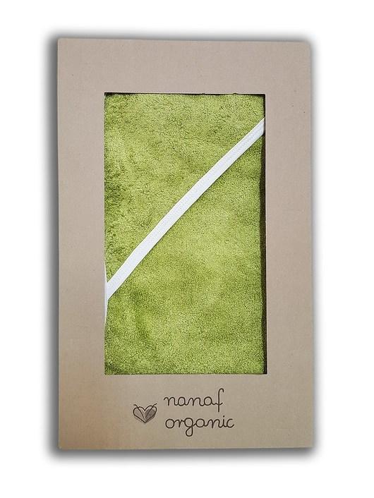 Ręcznik bambusowy z kapturem oliwka - 1933401