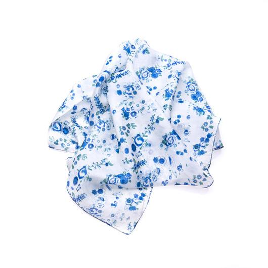Apaszka Jedwabna Blue Cornflowers- Nowość 2018 - 1993637
