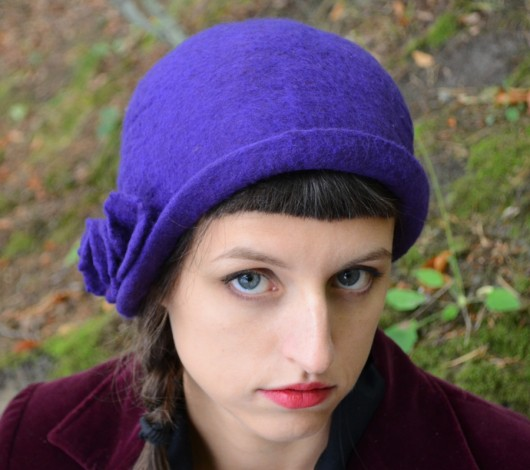 Randki czapki damskie vintage