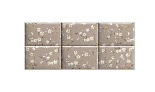 Zagłówek modułowy made for bed, kwiaty wiśni - 2012798